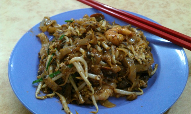 Char Koay Teow – fried noodles