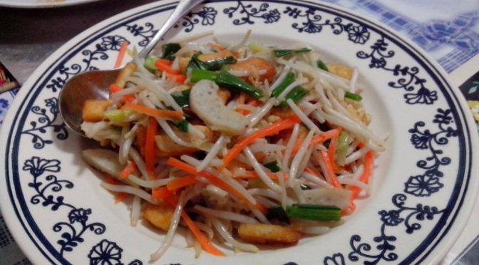 Buah petai with prawn