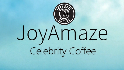 Joyamaze is Celebrity Coffee