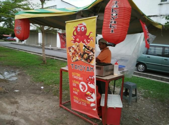 Slow slow takoyaki