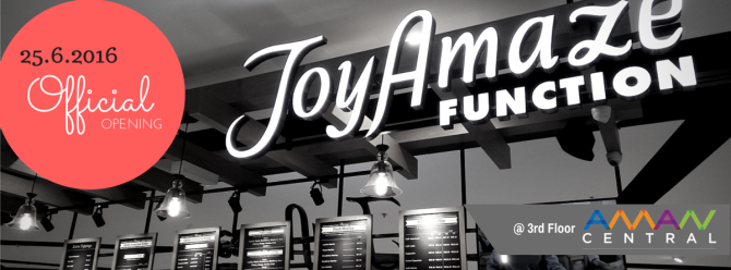 JoyAmaze Function Coconut Milk Latte