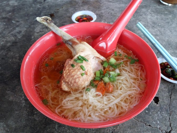 Famous Duck Noodle at Sungai Pinang, Penang