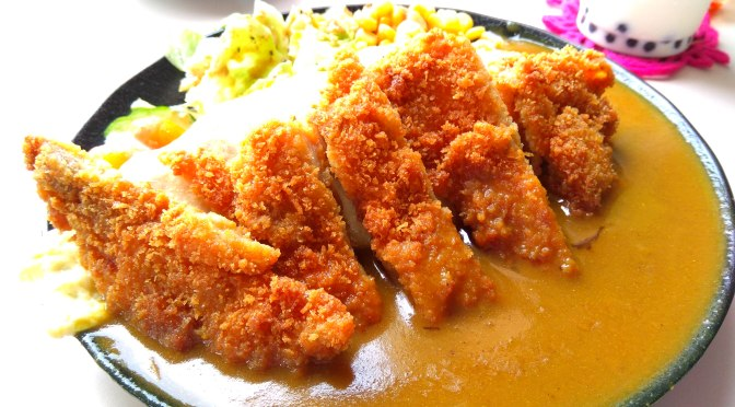 Japanese Curry Rice with Chicken Tongkotsu