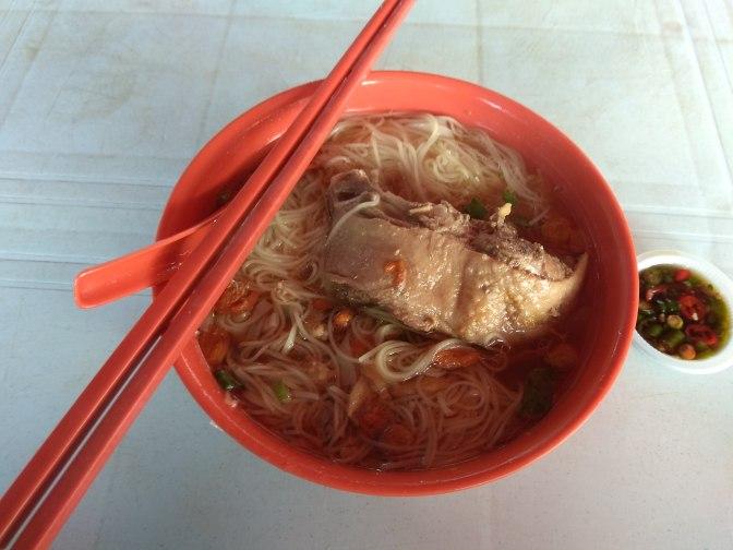 Oon Swee Hoe Duck & Chicken Drumsticks Noodle
