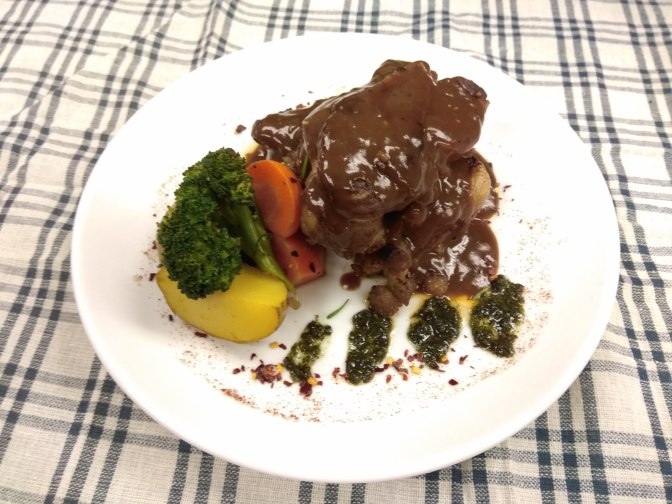 Black pepper Lamb Chop