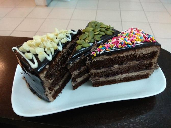 Choco Berry Madness Cake