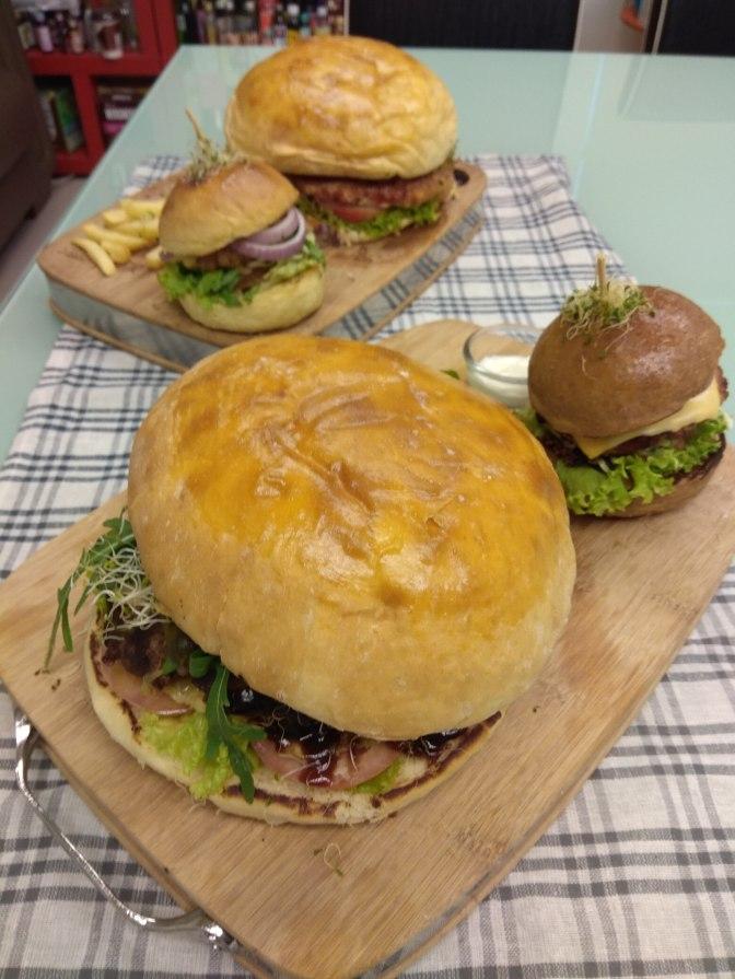 Giant JoyAmaze Burger