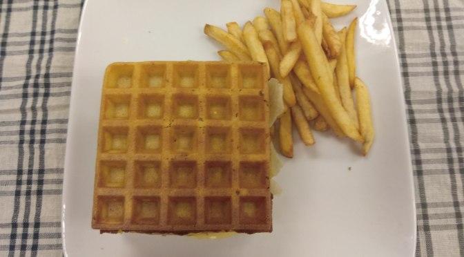 JoyAmaze Waffle Chicken Burger