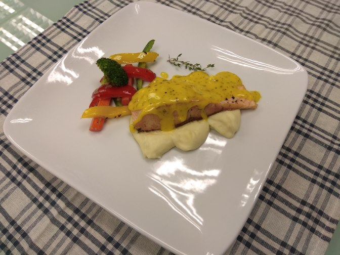 Premium Lemon Butter Salmon Steak