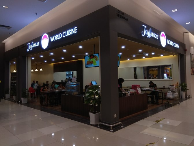 JoyAmaze World Cuisine at Tesco